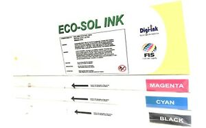 Eco sol Max Ink Cartridges Roland Oem Matched