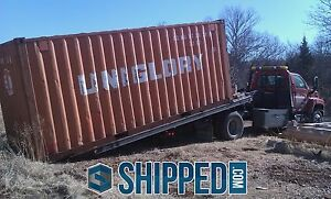 20 Ft Used Shipping Container Secure On Site Storage We Deliver Louisville Ky