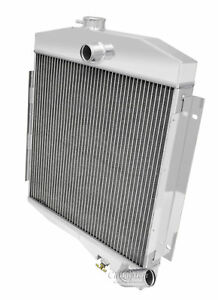 3 Row Discount Champion Radiator For 1965 1971 Jeep Cj5 Base Buick V6