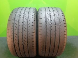2 Tires Bridgestone Turanza Er33 255 35 18 90y 5 8 32 S Tread 16838
