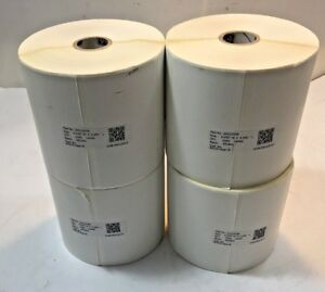 10010059 Zebra 4 X 2 25 8000d Near ir Parcel Shipping Label 1060 Per Roll