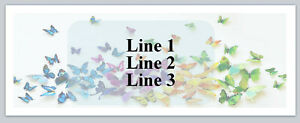 Personalized Address Labels Colorful Butterflies Buy 3 Get 1 Free p 459