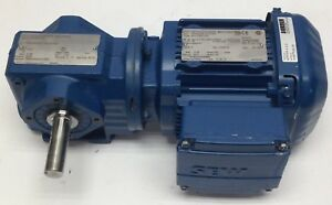 Sew eurodrive Inc Sa37drs71s4 Electric Motor Gear Reducer 60hz 3ph 50hp 1800rpm