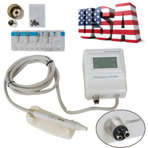 Us 2 5 Days Dental Ultrasonic Piezo Scaler 2hole Connect To Chair Handpiece Tips