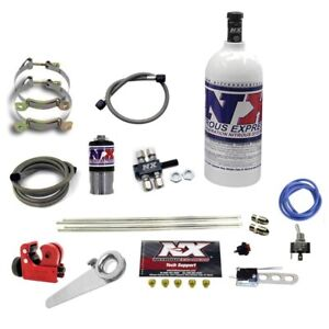 Nitrous Express 62000 1 0p Motorcycle 4 cylinder Dry System 1lb Bottle