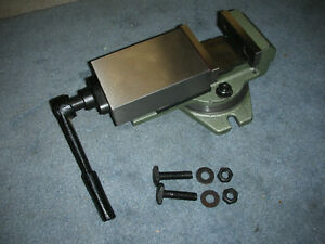 New Atlas Milling Machine 3 Inch Swivel Vise With Hardware New