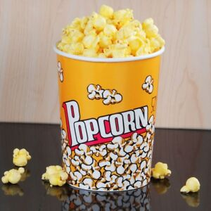 32 Oz Movie Theater Popcorn Cup Stackable Round Concession Cups pack Of 500
