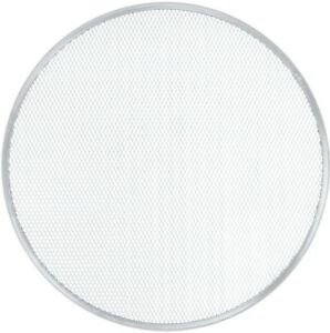 20 Inch Restaurant Pizzeria Buffet Round Pizza Screen Pan With Rim pack Of 12