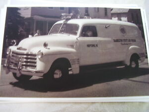 1951 Chevrolet First Aid Truck Neptune Nj 11 X 17 Photo Picture