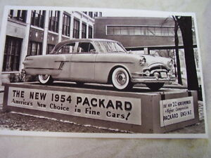 1954 Packard Display 11 X 17 Photo Picture