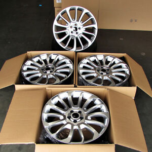 Fits Range Rover Land Rover Evoque 5x108 Rims 20 707 Style Hyper Silver Wheels