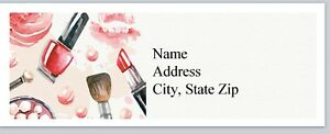 Personalized Address Labels Cosmetics Lipstick Makeup Buy 3 Get 1 Free p 523
