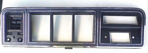 1978 1979 78 79 Ford Truck Bronco Black Dash Bezel W Air New b