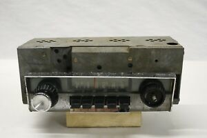 Original 1961 1962 Plymouth Model 204 Am Push Button Radio Assembly