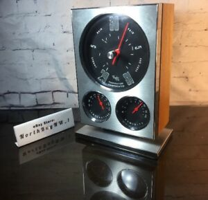 Vintage Humidity Temperature Instrument Gauge Cluster Inspired Design By Taylor