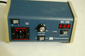 Ec105 Ec 105 E c 105 Digital Power Supply Cell Gel Electrophoresis Bnr