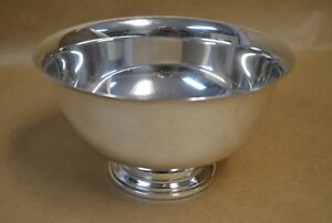 Whiting Sterling Silver Paul Revere Bowl 678 7 1 4 323g 10 4 Oz No Mono