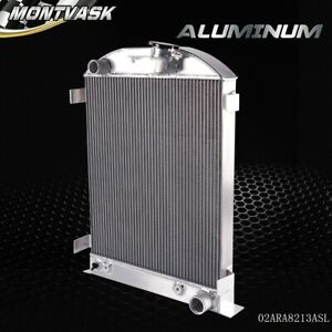 Aluminum Racing Radiator For 1930 1931 Ford Model A Ford V8 Upgrade