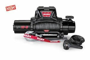 Warn 97035 Vr12 S Gen Ii 12 000 Lb Winch Synthetic Rope Lifetime Warranty