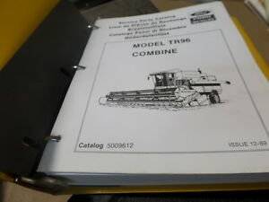 New Holland Ford Tr96 Combine Parts Catalog Manual