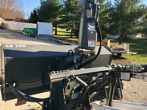 Bobcat Sb200 72 Snow Blower Cat Gehl John Deere New Holland Takeuchi Skid Steers