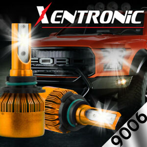 Xentronic 9006 Hb4 Led Headlight Bulb Kit Low Beam 6000k 60w 7600lm White Light