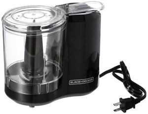 Black decker 3 cup Electric Food Chopper Improved Assembly Black Hc300b