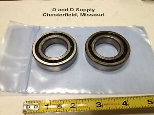 Lot Of 2 Nhbb Thrust Angular Contact Bearings Me 2106dl