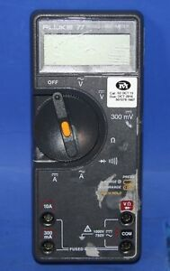 1 Used Fluke 77 Ii Multimeter No Case