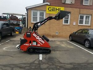 Track Loader Walk Behind Dingo Mini Morbark Boxer 700hdx