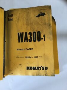 Komatsu Wa300 1 Front End Wheel Loader Parts Manual