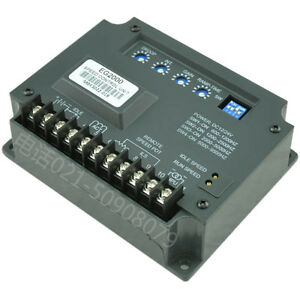 Speed Controller Universal Electronic Governor Control Unit Kutai Eg2000 Qd5 Zx