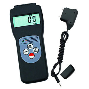 Us Seller Digital Wood Moisture Meter Pins Scanner Concrete Building M