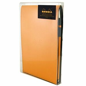 Rhodia Orange Notepad Gift Set 6x8 75 Lined