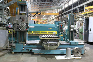 3 5 Spdl 49 X Tos W9a Horizontal Boring Mill 40 Pdb Rotary Tbl Facing Head
