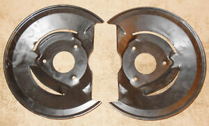 1968 1969 1970 Mustang Gt Shelby Mach1 Boss Cougar Orig Disc Brake Rotor Shields