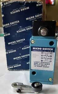 Micro Switch Lsm4n Heavy Duty Limit Switch Side Actuator