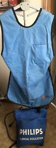 X ray Apron Lead Protection Xray 38 With Philips Storage Bag Picker Intl
