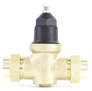 New Npt 3 4 Water Pressure Reducing Valve Doubleunion Brass Lead Free Threaded