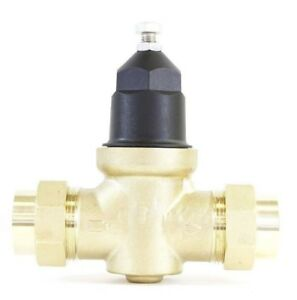 New Npt 1 In Water Pressure Reducing Valve Double Union Brass Lead Free Threaded