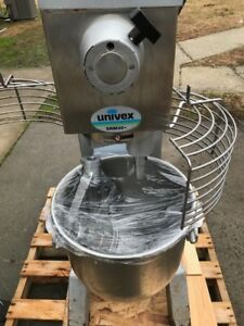 Univex Commercial Stand Mixer Restaurant Bakery Srm20 20 Quart With Attachments