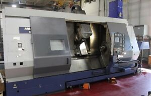 Mori Seiki Mt 253s 1500 With Sub spindle Live Tooling 60 Tool Atc
