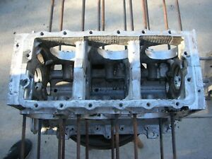 Corvair Engine Block T1229rw Power Glide 65 68 Degreased 8 Case Bolts