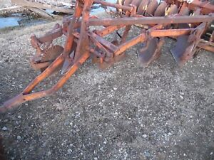 Allis Chalmers Farm Tractor Snap Coupler 4 Bottom 14 Plow good Iron On It