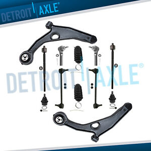 2009 2015 Dodge Journey Lower Control Arm Tierod Sway Bar Ball Joint 12pc Kit