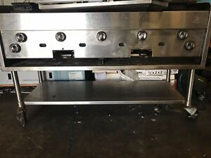 Jade Range Gas Grill Charbroiler Commercial Kitchen