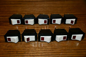 Lot Of 10 Nos Mcgill Mfg Rocker Switch Spst On off Model Hp 3 4 Rocker Switch