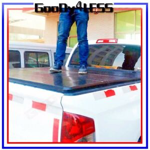 99 18 Gm Silverado Sierra 5 8 68 Short Bed Hard Trifold Clamp On Tonneau Cover