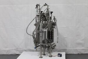 Abec 150l Jacketed Reactor Stainless Steel With Bottom Mount 1 4 Hp Drive Unit4