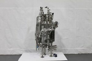 Abec 150l Jacketed Reactor Stainless Steel With Bottom Mount 1 4 Hp Drive Unit2